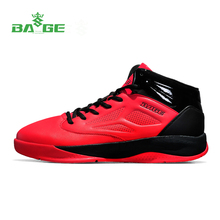 Bage Newest  Men Sport Shoes 2017 Male Ankle Boots Anti-slip Outdoor Sport Sneakers Plus Size Mesh Breathable Running Shoes Men