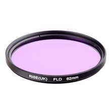 RISE(UK) 62mm Fluorescent Daylight Correction Filter 62mm FLD for DLSR free shipping(China)
