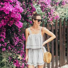 Buy INS Bali bag Women Hand Woven Round Rattan Straw Bag Bohemian Beach Circle Bag Circular Handbag Crossbody Shoulder Bags atabag for $29.99 in AliExpress store