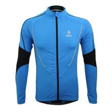 ARSUXEO Men Sports Cycling Clothes Bike Bicycle Winter Coat Jersey Long Sleeve Jacket