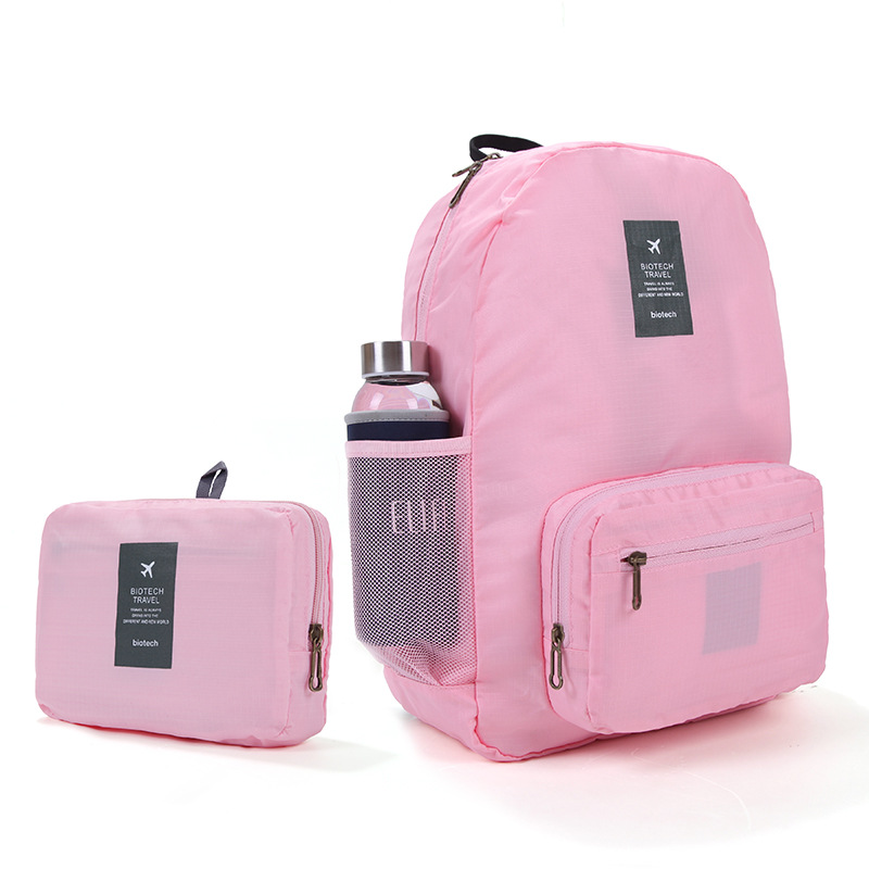 New Hot Unisex School Folding Storage Nylon Backpack Shopping Bags compres Easy to carry Waterproof Hike Backpack for Men Woman<br><br>Aliexpress