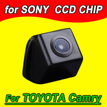 CCD car rear view parking camera for Toyota Camry Prius  Kamera waterproof for GPS DVBT radio free shipping NTSC PAL( Optional)
