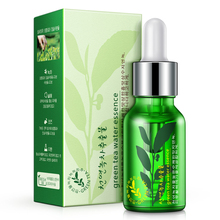 Green Tea Seed Hydrating Serum Skin Care Whitening Nourish Treatment Anti Wrinkle Anti Aging For Face Fine Lines Face Cream 15ML(China)