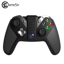 Orignal GameSir G4s Gamepad with Case Bluetooth 2.4GHz Wireless Wired Joystick PC for Android Windows PC TV BOX VR Games for PS3(China)