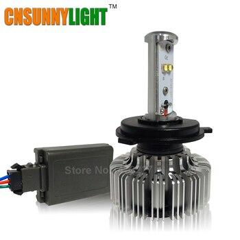 Con Virutas DEL CREE LED de Alta Lumen Linterna de La Motocicleta 20 W H4 H6 Hi lo alto Bajo 3000LM Moto luz reemplazar BA20d p15d-25-1 p43t