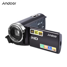 "Andoer HDV-5052STR Digital Video Camera 1080P Full HD with Night-shot Digital Camcorder 3.0"" LCD Touch Screen 16X Digital Zoom(China)"