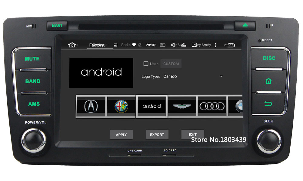 Octa Core 2GB RAM 32GB ROM Android 6.0.1 Car Radio 2Din Audio Stereo Multimedia DVD Player For Volkswagen Octavia 2012