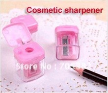 1PC/lot New cosmetic sharpener with cap,Sharpener for cosmetic brush/Eyeliner pencil/makeup pencil (SS-01)(China)
