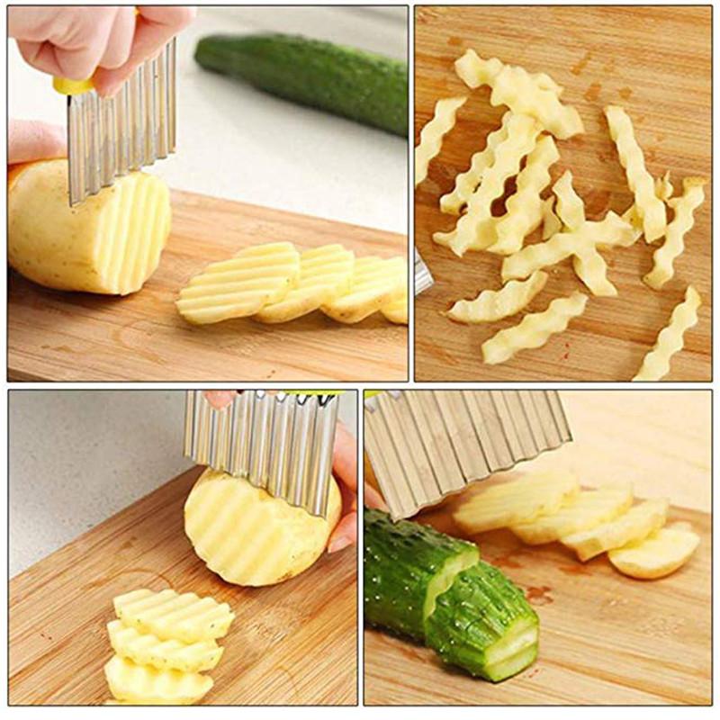 Stainless Steel Potato Peeler/Cutter