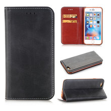 For Iphone 5s 6 6s Plus Case Luxury Retro Wallet Flip Faux Leather Case Card Slot Holder Stand Case for Iphone 5 5S SE 6 6s Plus