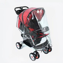 factory price hot selling 2016 new fashion Universal Strollers Pushchairs Baby Carriage Waterproof Dust Rain Cover Windshield(China)