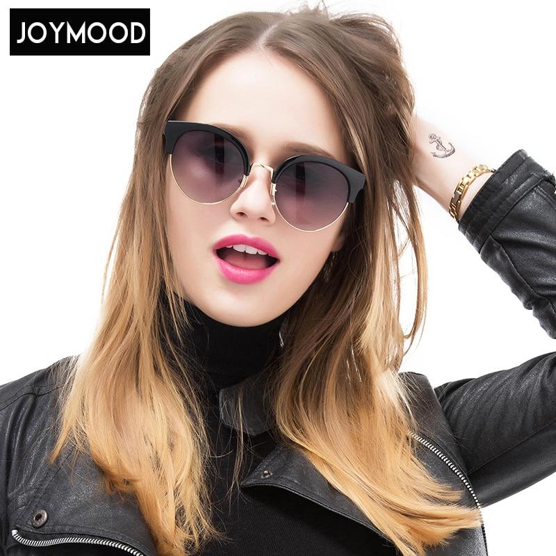 JOYMOOD Women Sunglasses Semi-Rimless Polycarbonate Plastic Sunglass Sunglasses Women Brand Designer Oculos De Sol Feminino<br><br>Aliexpress