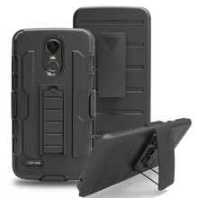 Buy 3 1 Impact Hybrid Heavy Duty Robot Armor Hard Phone Cover Case LG Stylo 3 / LG Stylus 3 /LS777 Belt Clip Holster for $4.79 in AliExpress store