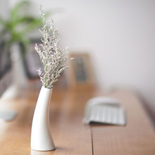 Slim Standing  flower pots planters ceramic flower vases tabletop decoration wedding decoration flower pots gifts