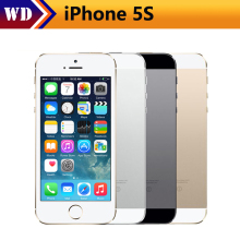 "Original Unlocked Apple iPhone 5S Mobile Phone iOS A7 4.0"" 8MP IPS HD GPS 16GB 32GB ROM Used Cell Phones iPhone5s U(China)"