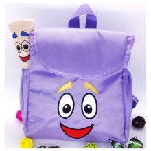 Dora the Explorer Adventure Dora Map Backpack Kindergarten Preschool Children Bag Purple