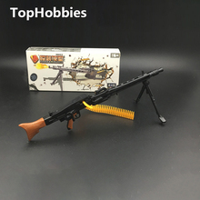 MM0596-2 4D Gun Model 1:6 Assembling Weapon Toys Ak47 M82 Machine Gun Mg42 M16 Rifle Submachine 8pcs/set Assembling Classic Toys