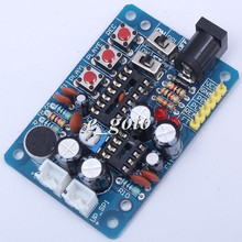 ISD1820 Voice Module DIY Kit Voice Record Board with Microphones
