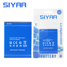 SIYAA Original Mobile Phone Battery Y100 For Doogee Valencia2 Y100 PRO Y100 Replacement Batteries 2200mAh High Quality(China)