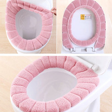 Buy O Type Soft Toilet Closestool Lid Seat Cover Home Bathroom Accessories Warm Toilet Seat Mat Washable Elastic Pumpkin Shape 29cm for $2.42 in AliExpress store