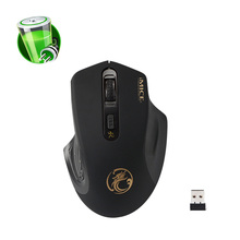 2.4Ghz Wireless Mouse Luxury Gaming Computer PC Mouse 2000DPI 4 Button Optical Micro USE Game Mouse Gamer Computer Accessories(China)