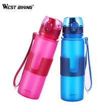 Buy WEST BIKING Cycling Water Bottle Portable Foldable Leakproof MTB Bike Bottle 500ML Camping Silicone Folding Bicycle Water Bottle for $13.20 in AliExpress store