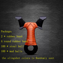 Powerful Slingshot Catapult Strong Sling shot Hunting Black dogs Shooting Outdoor Sports Games Outdoor Tools Accessories(China)