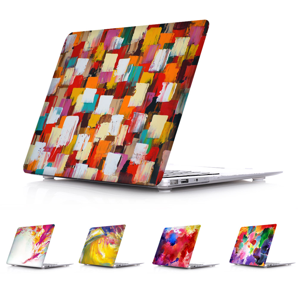 Crystal Case for MacBook Pro Retina 13 15 A1502 A1398 Watercolour Painting Pattern Cover for Macbook Air 11 12 13 A1466 A1465<br><br>Aliexpress