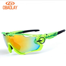 3 Lens Polarized Cycling Glasses Racing Sports bike Sunglasses Men UV400 Cycling Eyewear Bicycle Glasses gafas ciclismo oculos