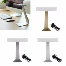 Ultrathin USB LED Desk Table Lamp 3 Mode Dimming Light Reading Touch Bed Work-Y122