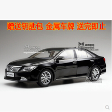 Hot sale CAMRY 2012 Toyota 1:18 Original simulation alloy car model Seventh Generation Japan Collection gift boy kids toy