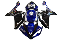 For Yahama YZF1000 YZF R1 2007 2008 ABS Injection Body Fairing Kit Blue Black