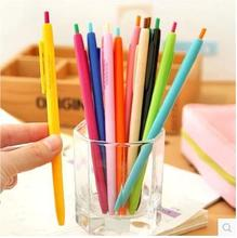Promotion Run Stationery Unisex Pen Gel For Office Work School Children Prize/office Supplier Online Sale 12pcs/lor Arc