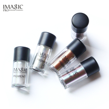 IMAGIC Makeup Eyeshadow Loose Pigment Shadows Eye Mineral Powder Metallic discoloration Loose Glitter Eyeshadow Color Makeup(China)
