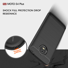TPU Case for Motorola Moto E4 E 4 Plus XT1770 XT1771 Carbon Fiber Cover for Moto E4Plus XT 1770 Phone Cases(China)