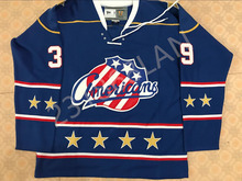 EOCHESTER AMERICANS Robert Griffith Hockey Jersey Embroidery Stitched Customize any number and name Jerseys(China)