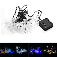 Outdoor Patio / Garden / Lawn / Path OriGlam 15.75ft 20 LEDs Solar Powered  Twinkling Butterfly String Lights