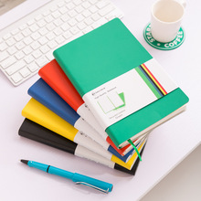 A5 School Notebooks Classic Strap Travel Notepad Fashion Notebook Student Stationery Environmental Protection Renewable Skin