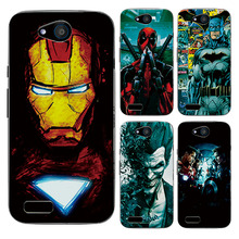 For ZTE Blade GF3 Case Cover Charming Marvel Avengers Captain America Iron man Spiderman Perfect Fundas For ZTE Blade GF3 T320(China)