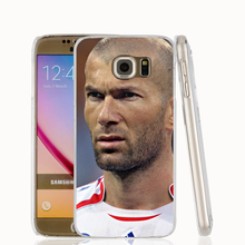 19821 french football Zidane cell phone case cover for Samsung Galaxy S7 edge PLUS S6 S5 S4 S3 MINI