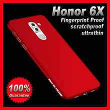Huawei honor 6x case cover Plastic Premium case for Huawei honor 6x cover case Brand newest Huawei honor 6x 6 x phone case