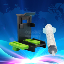 Ink Cartridge Clamp Absorption Clip Pumping refill tool  for Lexmark 26 16  for HP 21,22 60 61 56 57 74 75 901 121 300 PG40