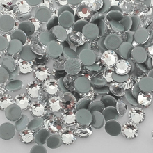 2058HF Crystal Hot Fix Rhinestones Crystal And Stones Flatback Rhinestones Hotfix Crystals Stones For Clothes Dresses(China)
