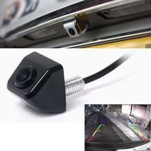 Black 120 DG Anti Fog Waterproof Backup Night Vision Car Rear View Camera Kit Wireless Car Parking Assistance Vehicle Camera