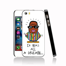 12297 Notorious BIG All A Dream Cover cell phone Case for iPhone 4 4S 5 5S 5C SE 6 6S Plus 6SPlus