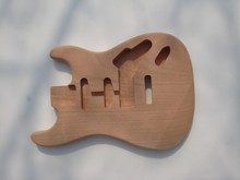 Light weight unfinished electric guitar body guitar body