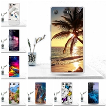 Buy TPU Case Sony Xperia XZ1 Compact Cover Soft Silicon Luxury Pattern Phone Cover Sony Xperia XZ1 Compact Case Cases Fundas for $1.51 in AliExpress store