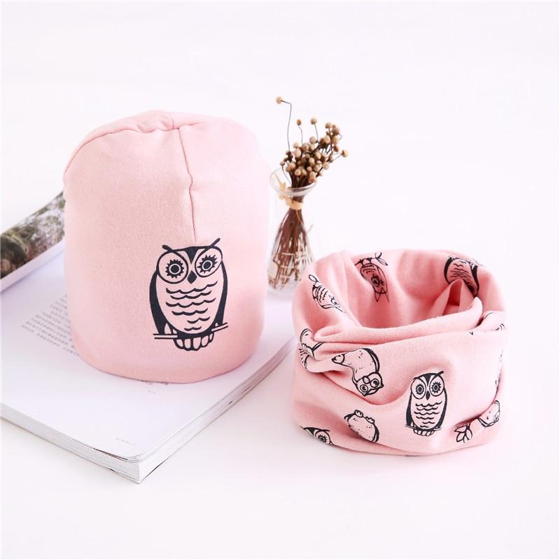 owl pink set