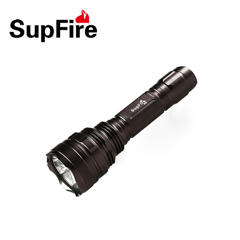 Supfire F9 CREE XML2-T6 Led Flashlight Emergency Rechargeable Led Light for Hunting by 18650 Battery<br>