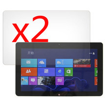 """2x films + 2x Clean cloth , LCD Clear Screen Protector Transparent Film Guards For Acer Iconia Tab W510 W511 10.1"""" Tablet(China)"""